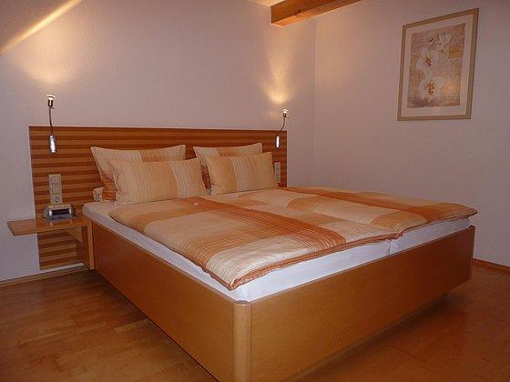 FeWo 60m² Schlafzimmer