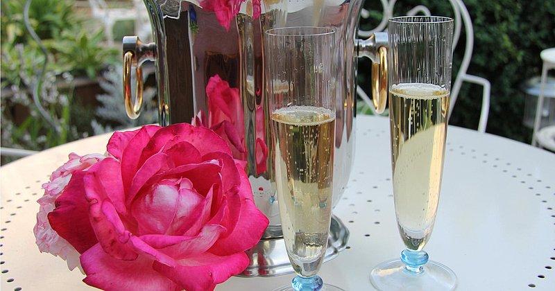 Romantik im Rosengarten