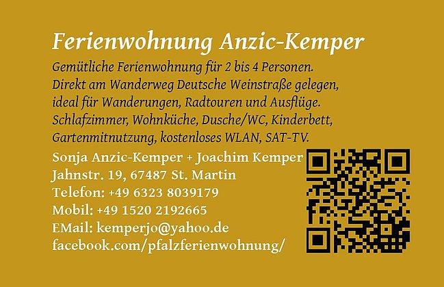 Visitenkarte, Infos