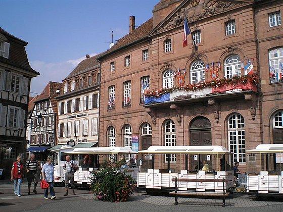 Grenzlandbähnchen in Wissembourg