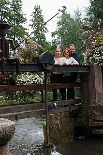 Bild von Eigentümer auf Brücke