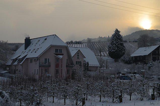 Winterliches Castell -Leinsweiler
