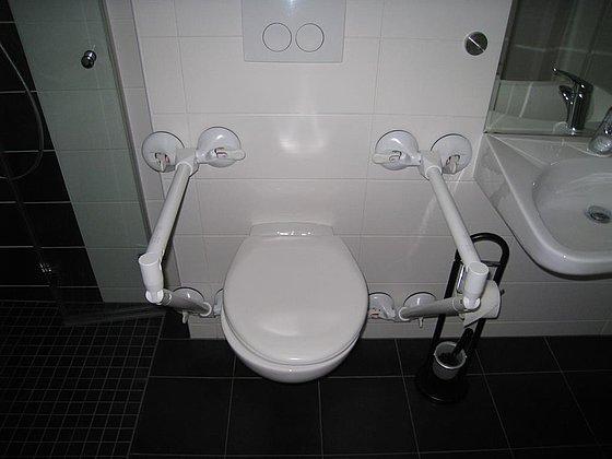 Toilette Ferienwohnung Ludwigshöhe