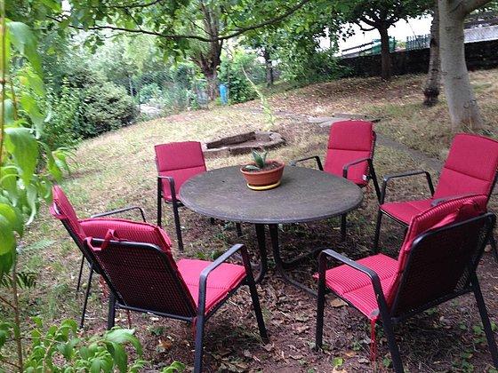 Sitzmöglichkeit Garten