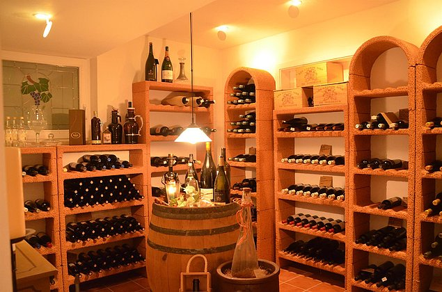 Weinkeller im Castell - Leinsweiler