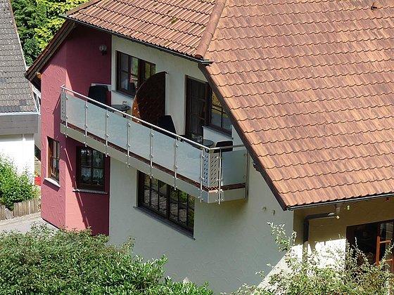 Balkon Zimmer 4 + 5