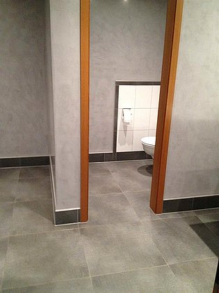 Zugang Toilette