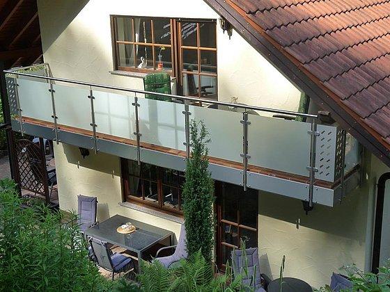 Zimmer 3 - Balkon