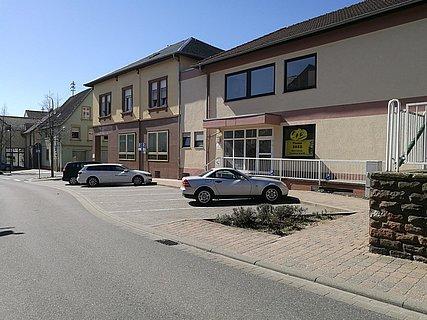Parkplatz am Café Centner
